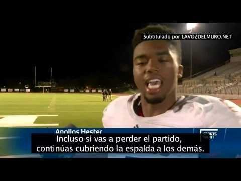 El jugador de fútbol americano más motivado del mundo | La voz del muro