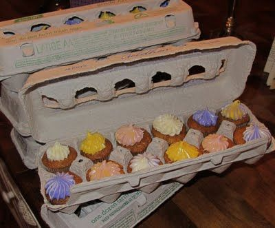 I LOVE making cupcakes and baking.  What a sneaky surprise. - post by Shannon