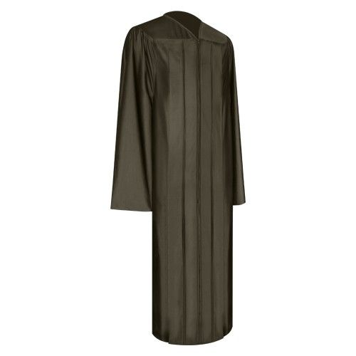 Shiny Brown Graduation Gown | Our Shiny Brown Gown symbolizes academic success for graduates of all ages in many schools, colleges and other academic institutions. Made from the finest non-see through shiny fabric, this gown gives graduates unrivalled quality, style and comfort. Make graduation a day to remember with our shiny Brown graduation gown and enjoy our outstanding value for money prices!