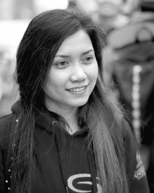Street Portrait of my friend #portrait #asian #filipina...