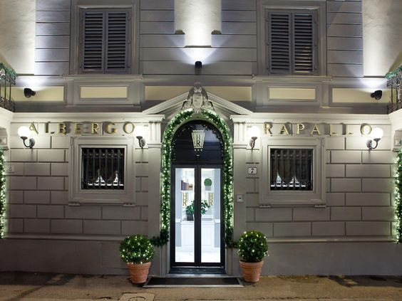 Florence Hotel Rapallo Italy, Europe Ideally located in the prime touristic area of Historical Center, Hotel Rapallo promises a relaxing and wonderful visit. The property features a wide range of facilities to make your stay a pleasant experience. Free Wi-Fi in all rooms, 24-hour front desk, facilities for disabled guests, express check-in/check-out, luggage storage are there for guest's enjoyment. Some of the well-appointed guestrooms feature closet, wooden/parqueted flooring...