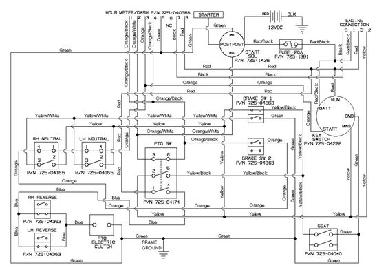 John Deere Hour Meter Wiring Diagram. John Deere Fuel System ... on
