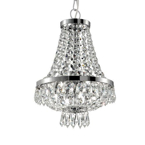 Caesar 4 Light Empire Chandelier Ideal Lux Chandelier Candle