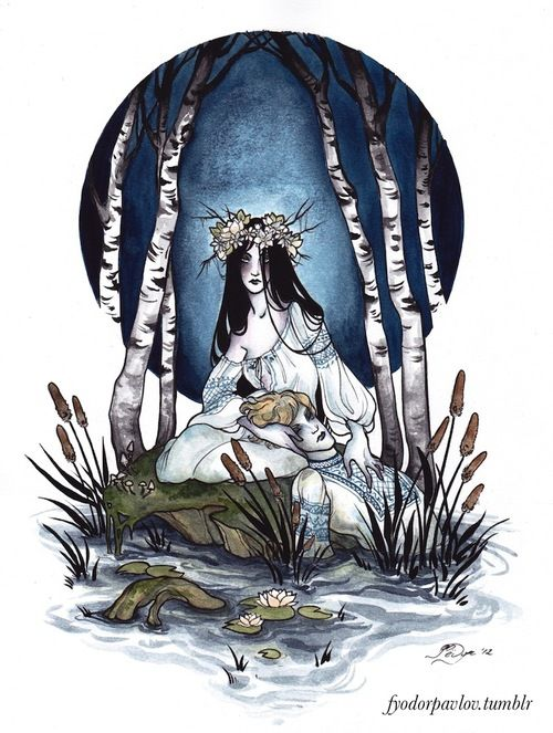Risultati immagini per rusalka mythology