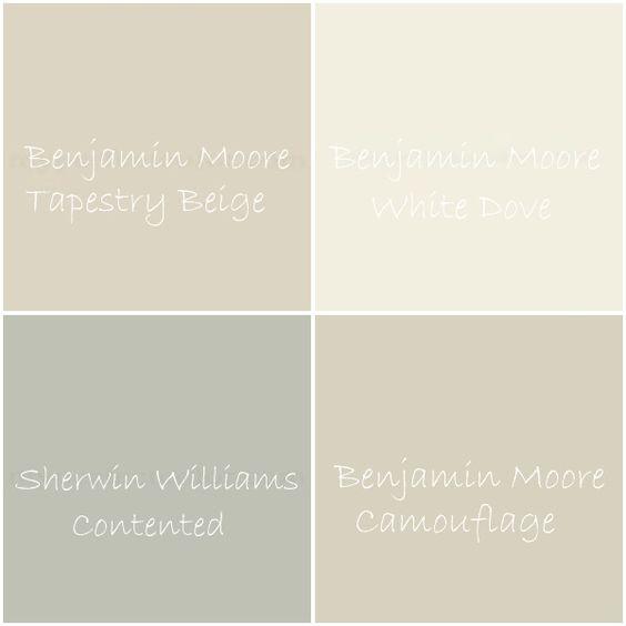 paint colors - neutral