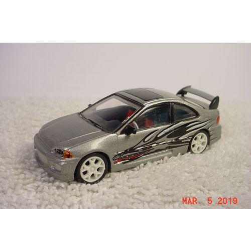 1995 Honda Civic Fast And Furious 1 64 Racing Champions On Ebid United States 178623828 Honda Civic Small Luxury Cars Honda