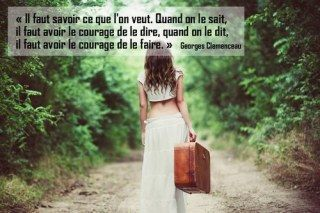 Le courage d'agir