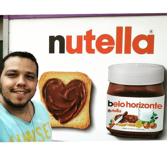 Como não amar @Nutella e @BeloHorizonteMG <3 <3  #BH  #Belo  #Beagá  #Nutella #Gordice #Belzonte  #Beozonte  #BeloHorizonte  #CoisasDeGordo  #BeloHorizonteMG  #BeloHorizonteBR  #BeloHorizonteBRA