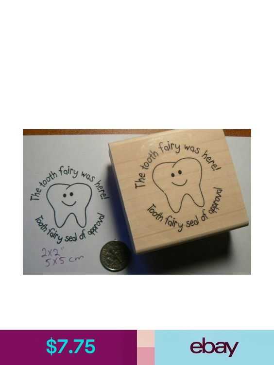 Tooth-fairy rubber stamp P49C