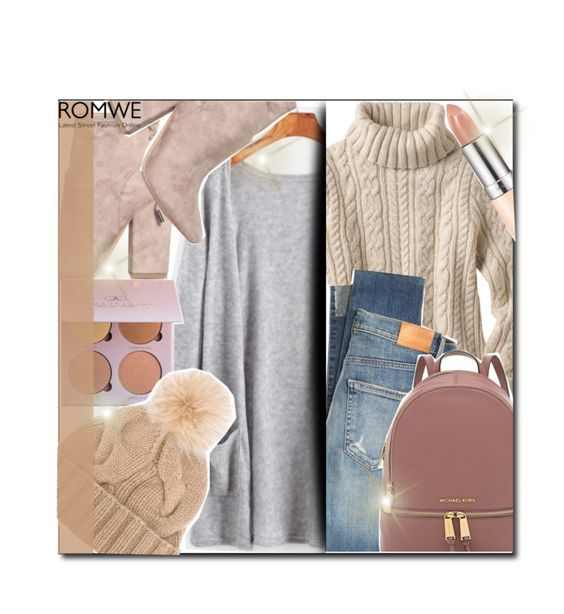 """romwe"" by konstadinagee ❤ liked on Polyvore featuring Kendall + Kylie, Citizens of Humanity, Rimmel and Loro Piana"