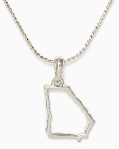 Georgia Outline Necklace | Fashion Jewelry - Be Charmed | charming charlie