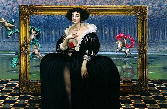Lunatica Desnuda: Absurdo, Surreal e sedutor Mulheres: mulheres misteriosas de Mike Worral