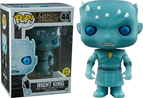 Funko POP! Game of Thrones Glow in the Dark Night King Vinyl Figure #44 Exclusive POP! http://smile.amazon.com/dp/B01CEZW3XU/ref=cm_sw_r_pi_dp_3oRexb01D154X
