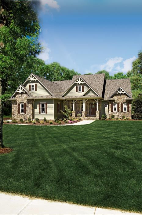 Hennefield Home Plans And House Plans By Frank Betz