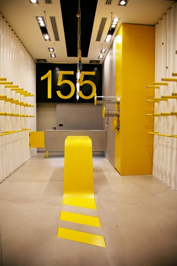 London based architecture and design firm Supernova Studio already has a quite impressive and exciting portfolio, andthe new 155 Boutique is just one example.