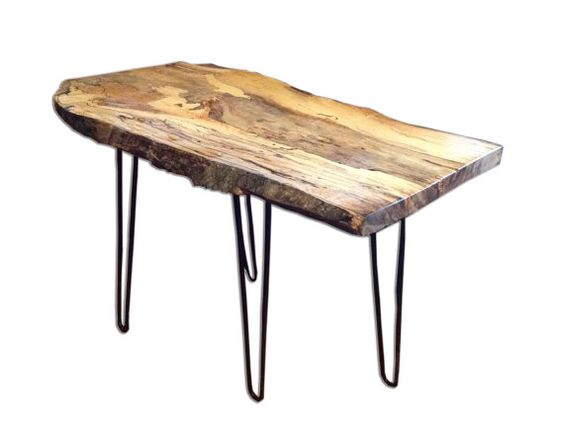 Custom Live Edge Tables. This one is a Wildly von RusticTrip
