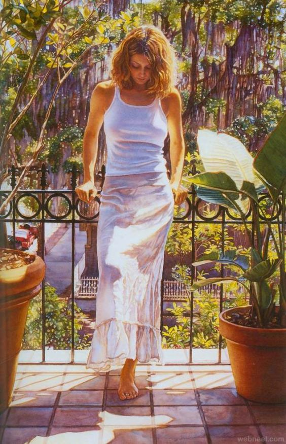 25 Stunning and Beautiful Watercolor Paintings by Steve Hanks | Read full…