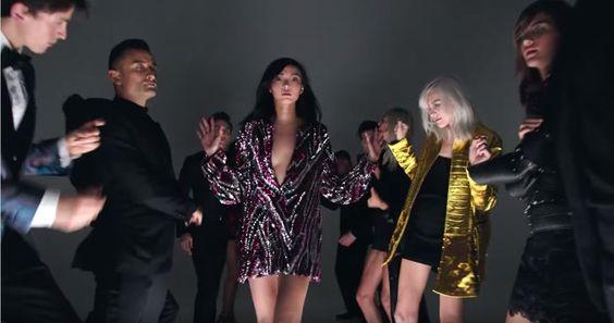 Pin for Later: Quand Tom Ford Transforme Son Défilé de Mode en Clip Vidéo – et Avec L'aide de Lady Gaga