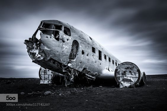 Dakota C-117D Plane Wreck by kossity. Please Like http://fb.me/go4photos and Follow @go4fotos Thank You. :-)