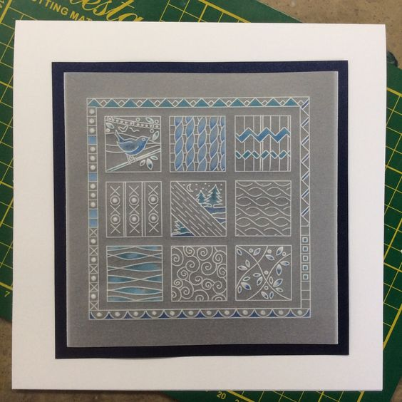 Barbara Gray's Blog. One Day at a Time.: A Border Plate Grid Project. + 40% Bumper Border Plate Sale!