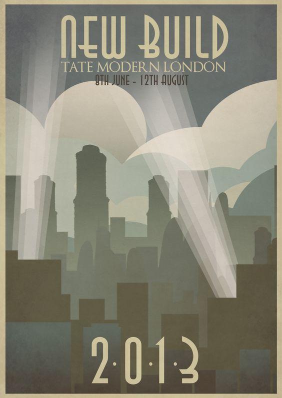 Designs Art Deco Colleges Deco Graphics Student Poster Design Art