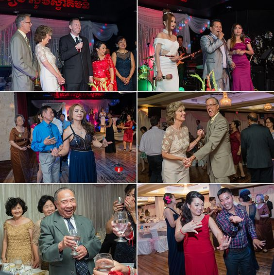 Traditional Cambodian Khmer Wedding Reception In California Pinterest And