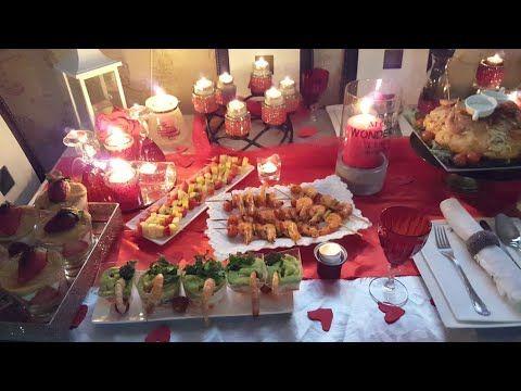 وجدت لزوجي مفاجأة بمناسية عيد زواجنا عشاء رومانسية بأطباق رائعة أفكار لتزيين الطاولة Youtube Table Decorations Decor Table Settings