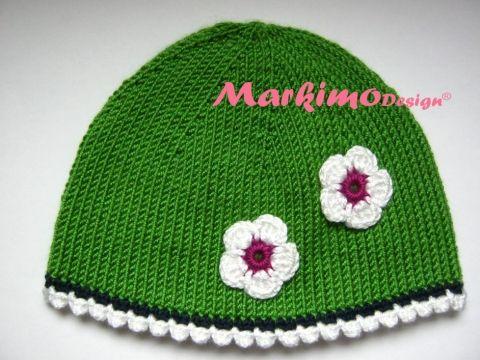 Babymütze Mia bei www.markimodesign.com