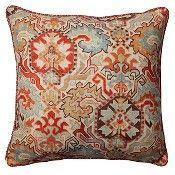 Pillow Perfect Madrid Sedona Throw Pillow - Multi-Colored (18