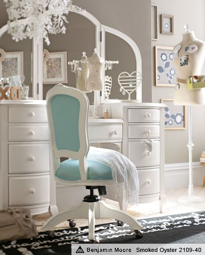 Vanities pottery and pottery barn on pinterest for Pottery barn teen paint colors