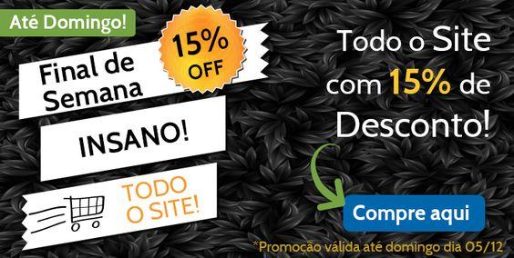 Final de semana insano! Todo o site com 15% de desconto! Boas compras! https://www.papira.com.br