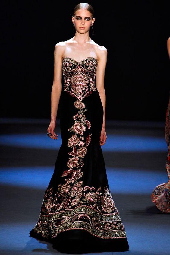 Naeem Khan Fall 2011 Ready-to-Wear Fashion Show - Sofia Krawczyk