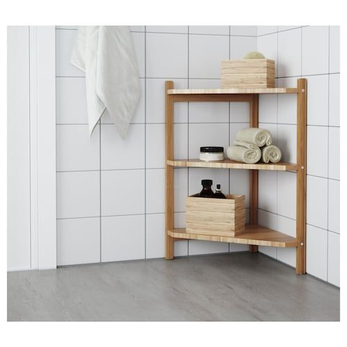 Ragrund Waschbecken Eckregal Bambus Ikea Deutschland