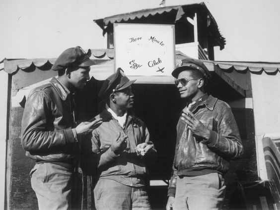 Pilots of the 15th Army Air Force in Italy, 1944
