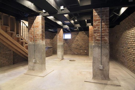 Downstairs airconditioned basement could be used for wine for Houses in houston with basements