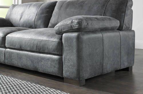 Linara Sofology Grey Leather Sofa Living Room Leather Sofa Living Room Leather Corner Sofa Living room grey leather sofa