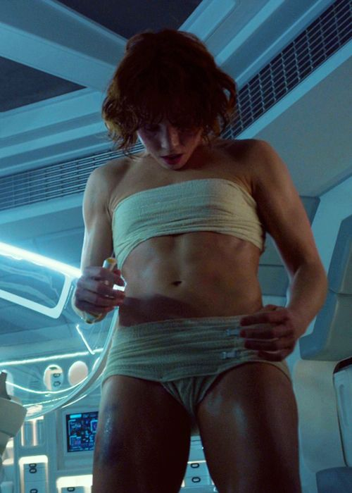 This is my fitness goal to look like Noomi Rapace in
