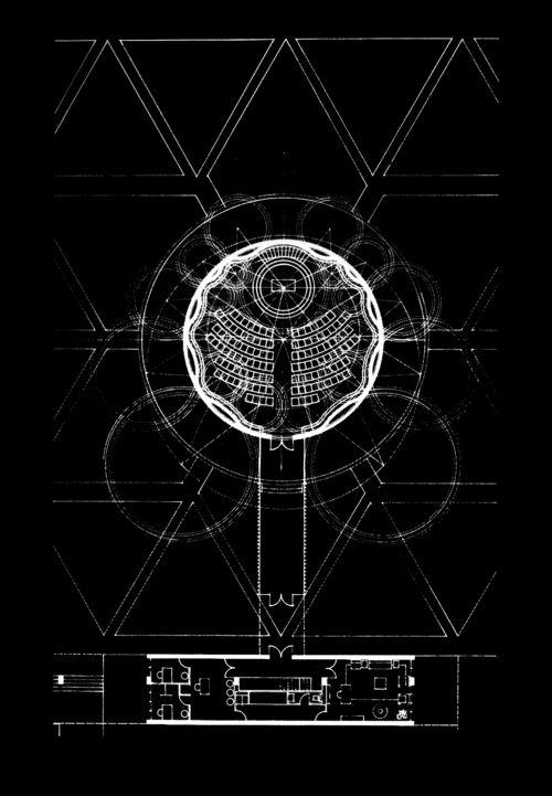 On Something Onsomething Eero Saarinen Mit Chapel Massachusetts 1955 Eero Saarinen Architecture Sacred Architecture Diagram Architecture