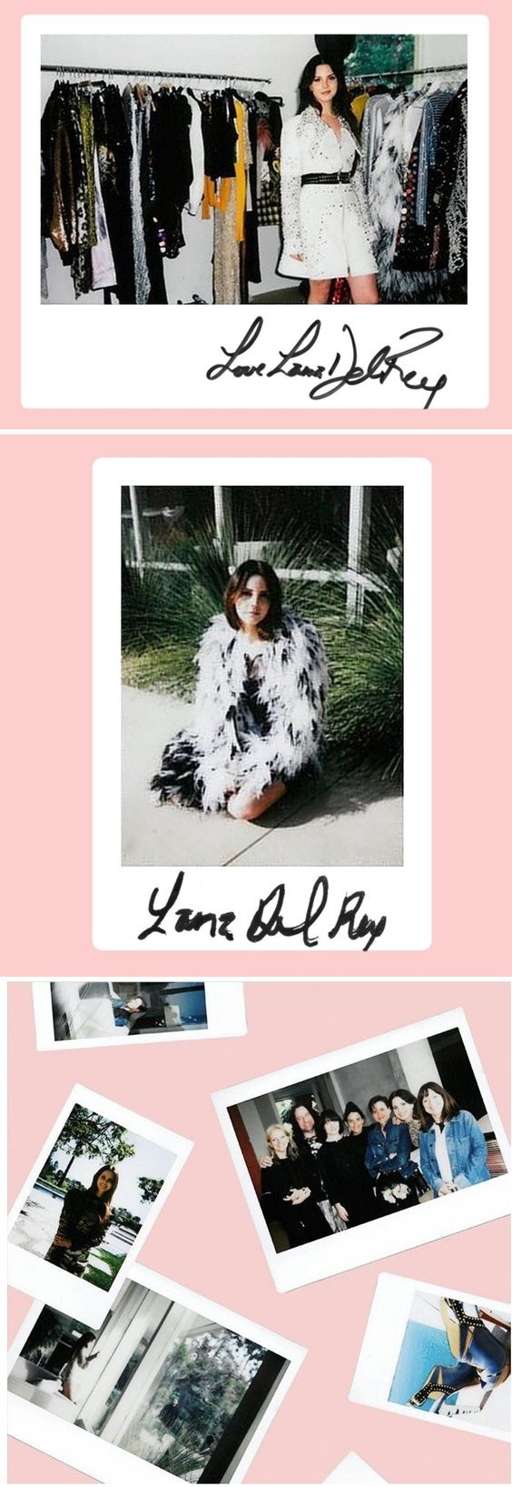 Lana Del Rey behind the scenes of photoshoot for Elle UK (June 2017) #LDR: