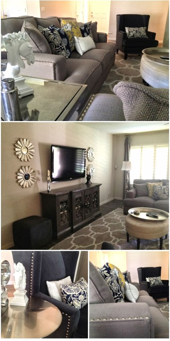 Before and afters great room see this neutral color for Shades of neutral colors