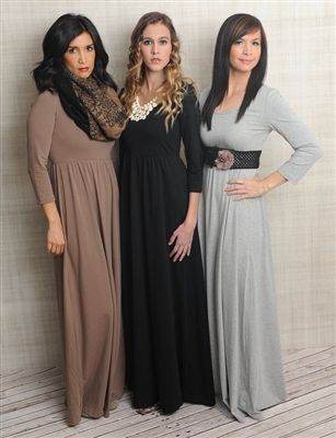 Solid Jersey Maxi Dress $19.99