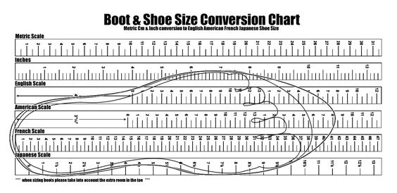 Man Woman Shoe Size Conversion Chart Image Collections Chart