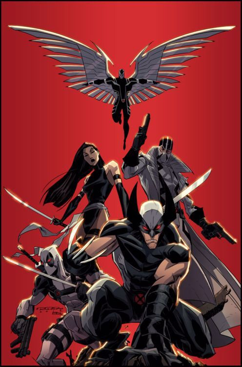 Archangel Agent Zero Psylock Wolverine And Deadpool In 2020 Marvel Comics Art Superhero Art Comic Books Art