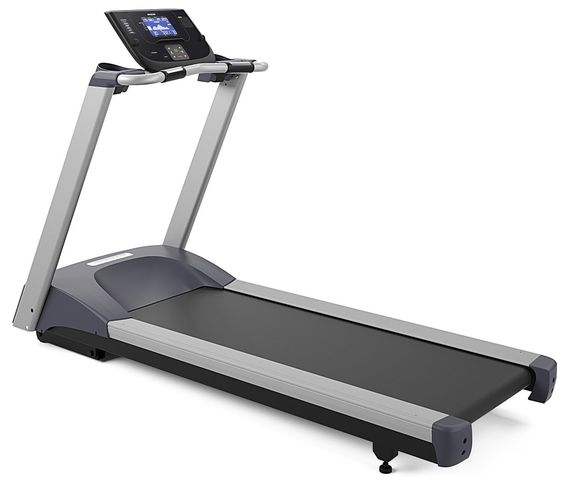 Precor TRM 211 Energy Series Treadmill. Energy Stride Technology reduces stress on joints by providing optimal deck cushioning and rigidity underfoot. Non-folding design provides a structurally sound and stable platform; 100% no-maintenance design eliminates periodic service calls. Easy-to-use, streamlined console with Quick Start and 6 preset workouts. Powerful 3 HP continuous duty motor runs cool and quiet providing plenty of power and torque for interval training. Maximize your workout...