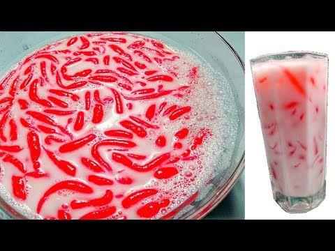 Resep Cendol Dawet Sutra Es Cendol Sutra By Uli S Kitchen Youtube In 2021 Pink Foods Sutra Daun