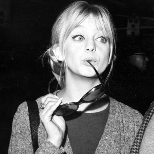 """""""The only thing that will make you happy is being happy with who you are, and not who people think you are."""" Goldie Hawn"""