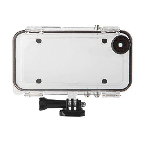 IC-0801 スマホケース iphone対応 5/5S/SE/6/6S/6 Plus/6S Plus適用 完全防水/防 塵/耐衝撃/耐雪性ケース IP68保護等級 広角レンズ 水中撮影 GoPro連接 付属品付き (5/5S/SE適用)