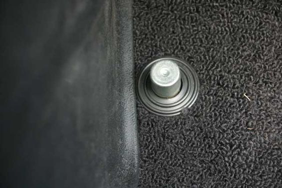 High Beam floor switch you pushed with your foot to switch from low to high beam lights while driving.