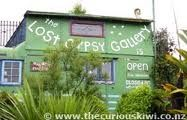 "The Lost Gypsy Gallery, Papatowai - a definite ""must"" for everyone to visit. A very clever man."