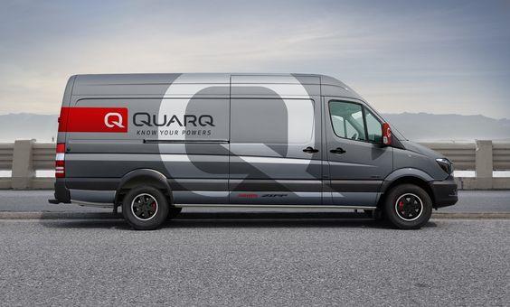quarq team van wrap ink on paper pinterest wraps and van. Black Bedroom Furniture Sets. Home Design Ideas